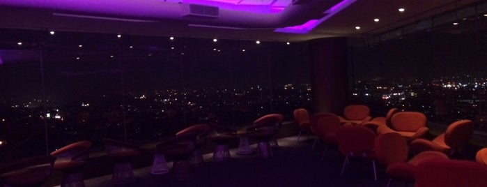 High Ultra Lounge is one of The 15 Best Places with a Rooftop in Bangalore.