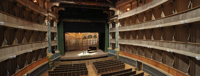 Teatro Sociale is one of EU Prize for Cultural Heritage 2014.