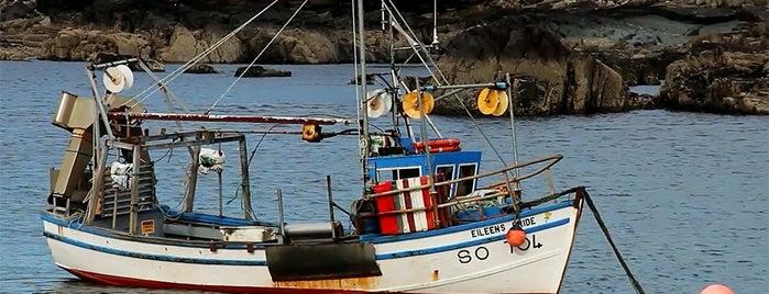 Belderrig pier is one of Frontiers of the EU.