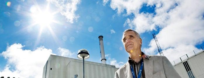 Forsmark kärnkraftverk is one of Frontiers of the EU.