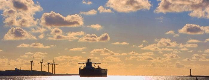 Maasvlakte is one of Frontiers of the EU.