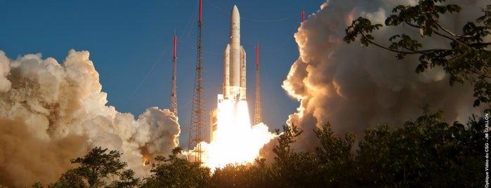Guiana Space Centre is one of Frontiers of the EU.