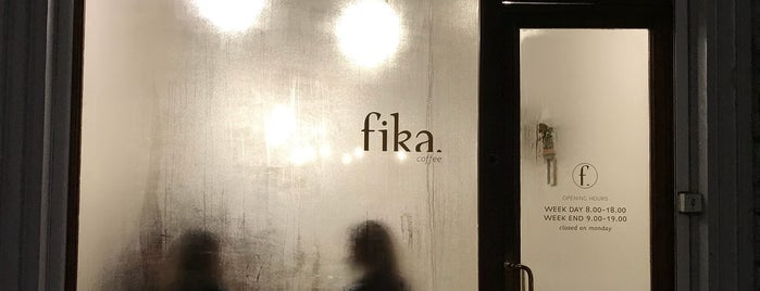 FIKA is one of Bxl Terraces.