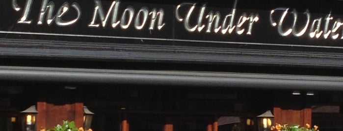 The Moon Under Water (Wetherspoon) is one of London Pubs.