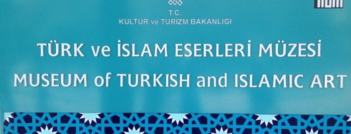 Museum of Turkish and Islamic Art is one of İstanbul'daki Müzeler (Museums of Istanbul).