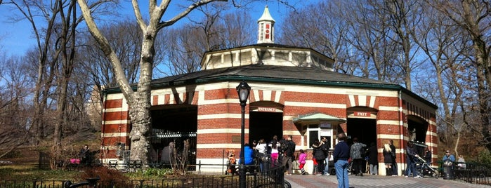 Central Park Carousel is one of Best Spots for Kids - NYC.