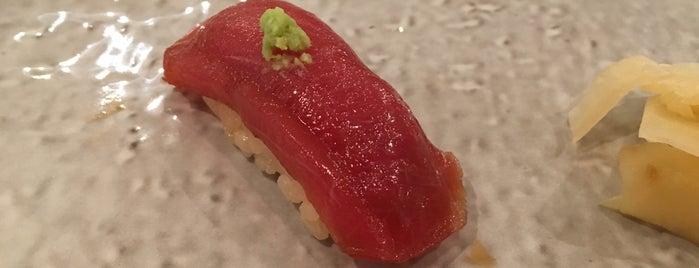 Sushi Katsuei is one of Manhattan Food.