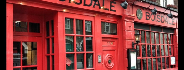 Boisdale of Belgravia is one of The 15 Best Places for Cigars in London.