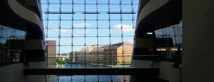 Det Kongelige Bibliotek - Den Sorte Diamant is one of I love CPH.