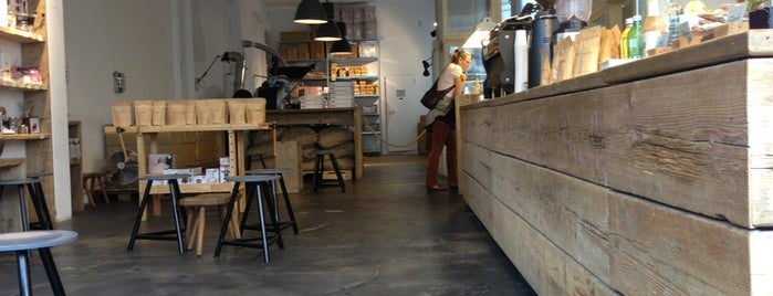 The Barn - Roastery is one of boschcoffee.