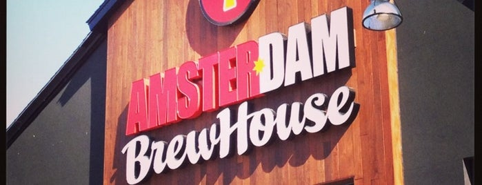 Amsterdam Brewhouse is one of Toronto Beer.
