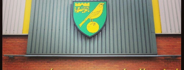 Carrow Road is one of Barclays Premier League Stadiums 2013-14 Season.