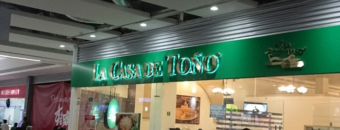 La Casa De Toño Aragón is one of Tips Restaurantes.