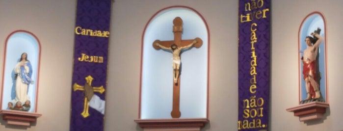 Paróquia Imaculada Conceição e São Sebastião is one of Relíquia de João Paulo II no Rio.
