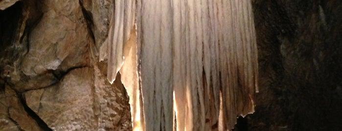 Punkevní jeskyně is one of Doly, lomy, jeskyně (CZ).