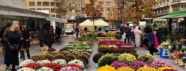 Marché de la Place Flagey is one of Bruxelles, ma belle.