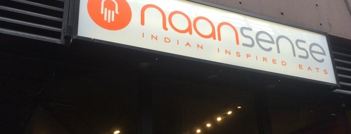 Naansense is one of River North.