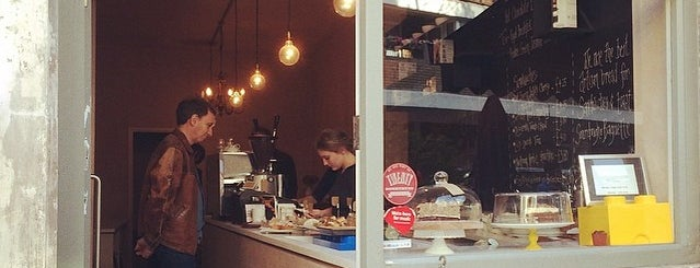 E & J's Pantry is one of Specialty Coffee Shops Part 2 (London).