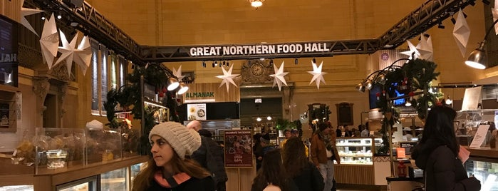 Great Northern Food Hall is one of NYC Manhattan 14th-65th Sts & Central Park.
