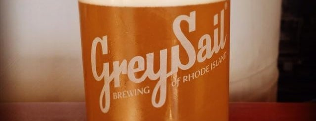 Grey Sail Brewing of Rhode Island is one of America's Best Breweries.
