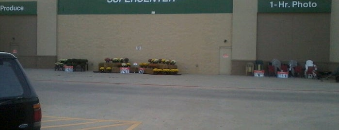 Walmart Supercenter is one of Stores I go to a lot.