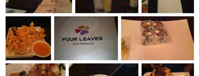 Four Leaves Asian Restaurant is one of Food.