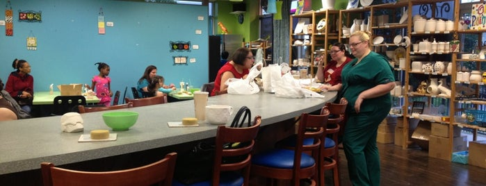 The Pottery Stop And Coffee Shop is one of Best Coffee Spots in Howard County, MD.