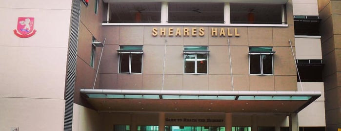 Sheares Hall is one of NUS Hostels.