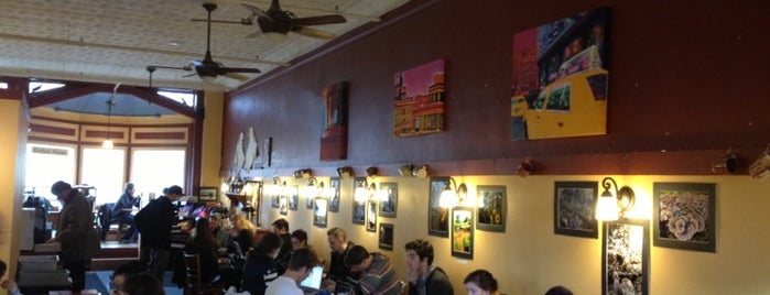 Carol's Hungry Mind Cafe is one of Town hangouts for students.