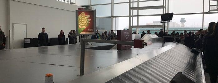Baggage Reclaim is one of HAVALİMANLARI.