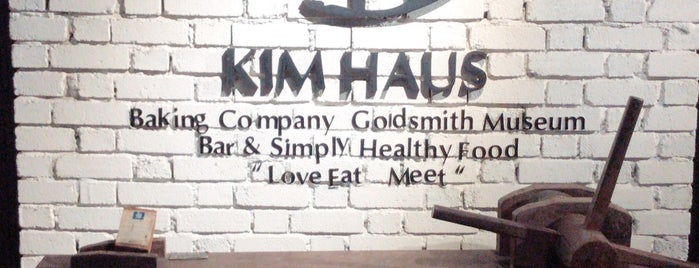 Kim Haus is one of cafe&restaurant.