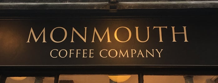 Monmouth Coffee Company is one of Best Coffee Shops in London.