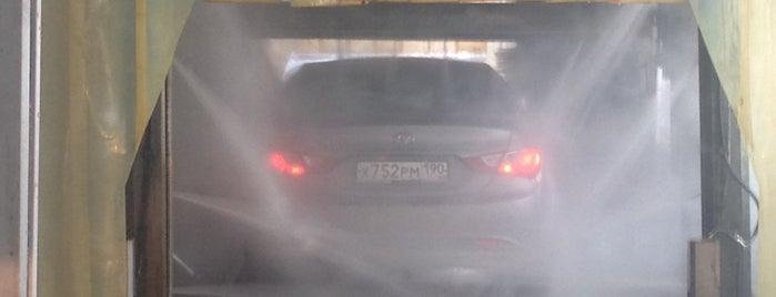 Экспресс-мойка на Волковском Шоссе is one of Танки грязи не боятся?.