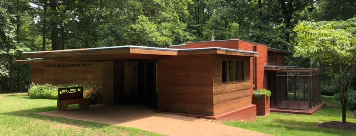 Frank Lloyd Wright's Pope-Leighey House is one of D.C..