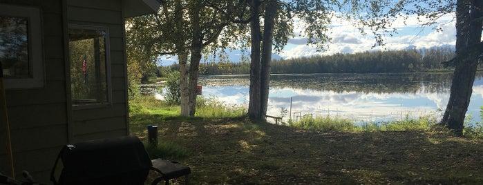 Jacobsen Lake is one of ?8.