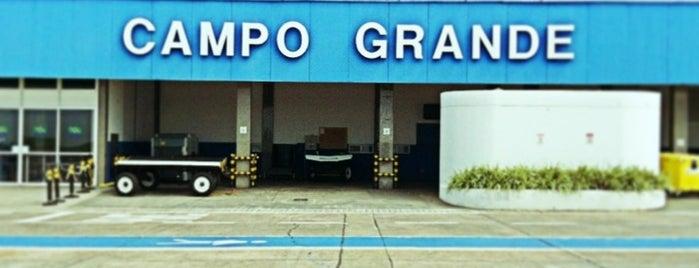 Campo Grande International Airport (CGR) is one of Aeroportos.