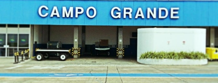 Campo Grande International Airport (CGR) is one of Dicas do Tom.