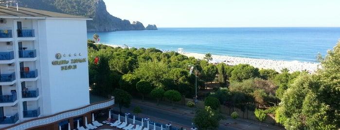 Grand Zaman Beach Hotel is one of Turkiye Hotels.