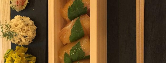 鼈甲鮨 is one of 菜食できる食事処 Vegetarian Restaurant.