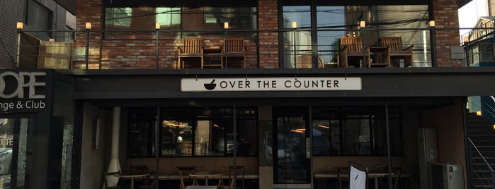 OVER THE COUNTER is one of Cafes in Seoul.