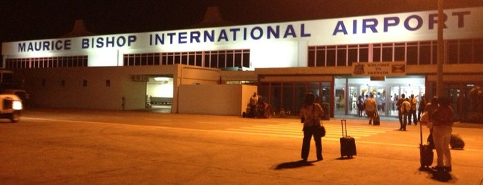 Maurice Bishop International Airport (GND) is one of Flying with Caribbean Airlines.
