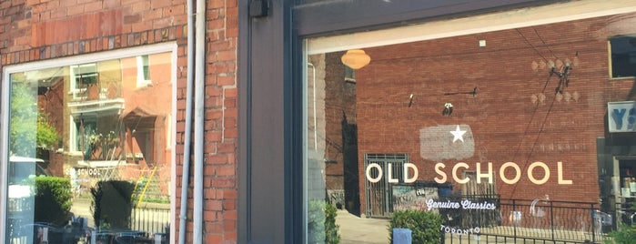 Old School is one of Best Brunch Spots in Downtown Toronto.