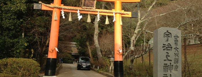 Ujigami Shrine is one of kyoto.