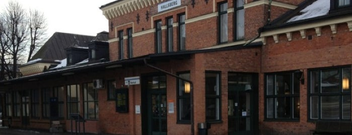 Hallsberg Station is one of Tågstationer - Sverige.