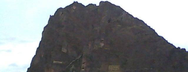 Ollantaytambo is one of Perú.