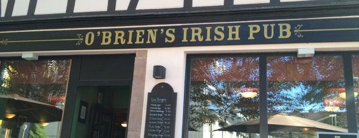 O'Brien's Irish Pub is one of Binouzes à Strasbourg.
