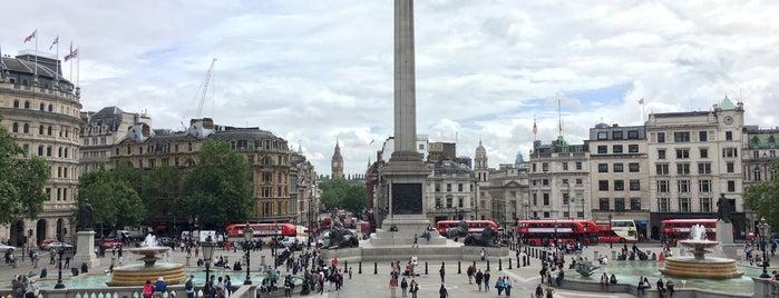 Trafalgar Square is one of Bucket List Places.
