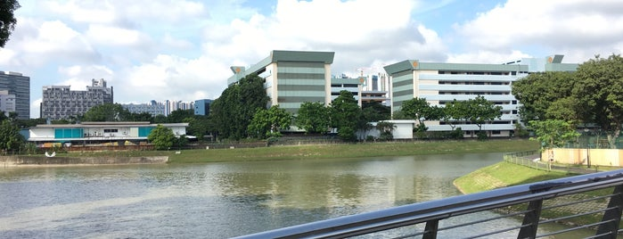 Pelton Canal Park Connector is one of Trek Across Singapore.