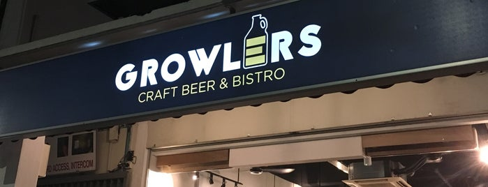Growlers is one of 54 Dog-friendly eateries in Singapore.