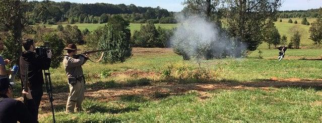 Nash Farm Battlefield is one of History.